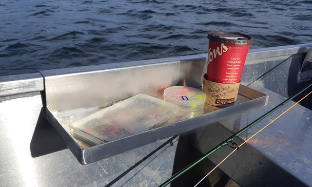 Journey Boat Hanging Tackle Tray