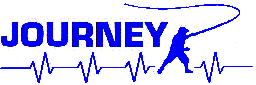 Journey Heartbeat Fishing Man Boat Decal