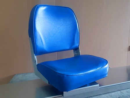 Boat Seat - Deluxe - Blue