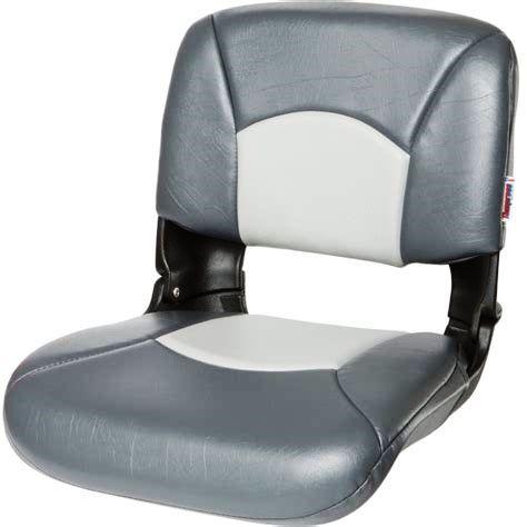 Premium Boat Seat - Charcoal Grey