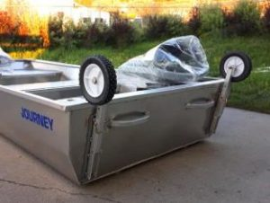 Journey Boats Flip Wheel Kit - Non Pneumatic