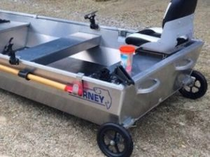 Journey Boats Plug In Wheel Kit - Non Pneumatic